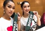 Hà Thu vươn lên dẫn đầu thành tích Hoa hậu Trái đất 2017