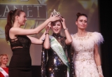 Vợ diễn viên Thành Được đạt giải Á hậu 1 tại cuộc thi Mrs. Planet 2017