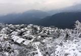 Đông Á 'đông cứng' trong tuyết trắng