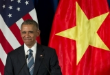 Hình ảnh Tổng thống Obama 'đốn tim' người dân tại Việt Nam