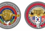 Nhà Trắng phát hành đồng xu 'đàm phán hòa bình' có hình ảnh Việt Nam