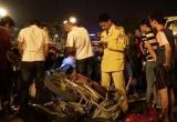 'Xe điên' gây tai nạn liên hoàn trên cầu vượt Thái Hà - Chùa Bộc