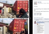 Hưng Yên: Xe container mất lái đâm thẳng vào nhà dân