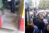 Chỉ vì khó chịu tiếng còi xe buýt, nam sinh đánh tài xế đổ máu