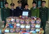 Hà Tĩnh: Liên tiếp bắt giữ số lượng lớn pháo lậu trong dịp trước Tết