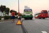 TP HCM: Xe buýt va chạm liên hoàn, hàng chục sinh viên hốt hoảng