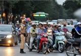 Phân luồng giao thông phục vụ bầu cử Quốc hội