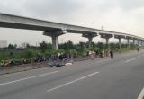Nam công nhân chết thảm trên xa lộ Hà Nội