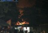 Hàm Yên (Tuyên Quang): Mùng 3 Tết, 2 ngôi nhà bị thiêu rụi