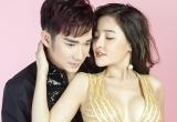 """Quang Hà """"cặp kè"""" cùng """"hotgirl ngực khủng"""" Ngân 98"""