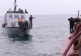 5 tàu hút cát trọng tải lớn bị bắt ở cửa biển