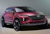 Hyundai công bố những hình ảnh đầu tiên của Santa Fe thế hệ mới
