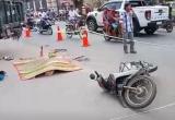 Bình Dương: Xe tải va chạm với xe máy, 1 người tử vong