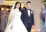 Cận cảnh hai chiếc váy cưới lộng lẫy hơn 200 triệu của Diệp Lâm Anh