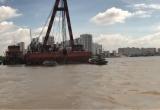 Tìm thấy 2 thi thể nạn nhân trong vụ lật sà lan trên sông Sài Gòn