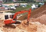 Lâm Đồng: Phát hiện nhiều phương tiện san gạt đất trái phép