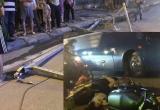 UBND quận Thanh Xuân thông tin về vụ việc khung sắt rơi trên đường Lê Văn Lương