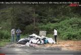 Nhức nhối tình trạng xả, đốt rác thải trong Khu di tích Đền Hùng