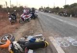 Xe ô tô phóng nhanh tông xe máy, 3 người thiệt mạng
