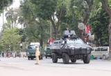 Clip: Xe bọc thép dẫn đoàn đưa ông Kim Jong-un đến Phủ Chủ tịch thăm hữu nghị chính thức Việt Nam