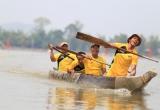 Lễ hội Cà phê Buôn Ma Thuột năm 2019: Sôi nổi đua thuyền độc mộc trên hồ Lắk