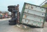 Đồng Tháp: Tài xế container sử dụng ma túy, gây tai nạn khiến 3 người tử vong