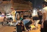 Chiến sĩ CSGT bị thanh niên tông khi đang giữ xe vi phạm