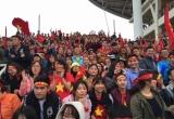 Cổ động viên từ quê hương đã sẵn sàng tiếp lửa Olympic Việt Nam