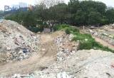 Toàn cảnh bãi rác thải khổng lồ ở phường Khương Đình 'mọc' cạnh khu dân cư