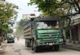 Xe tải hoành hành tại TX Sơn Tây: Đội CSGT số 9 'đổ vấy' trách nhiệm