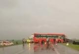 5 xe đâm liên hoàn trên đường dẫn nối cao tốc Ninh Bình - Cầu Giẽ