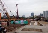 Dự án Chung cư MHD Trung Văn thi công không phép bị đình chỉ tuyệt đối