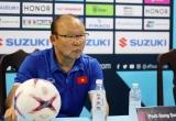 HLV Park Hang-seo: Chúng tôi không thể dừng lại, cần tập trung hơn nữa cho trận lượt về