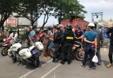 CSCĐ lên tiếng vụ 'lên gối' người tham gia giao thông