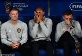 Nỗi buồn của Thierry Henry khi Pháp đánh bại Bỉ để vào chung kết World Cup 2018