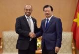 Phó Thủ tướng Trịnh Đình Dũng tiếp Tập đoàn Dầu khí Mubadala