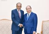 Thủ tướng Nguyễn Xuân Phúc tiếp Bộ trưởng Bộ Nội vụ kiêm Bộ trưởng Bộ Luật pháp Singapore