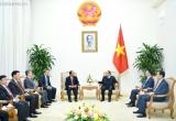 Thủ tướng Chính phủ tiếp Bộ trưởng Tư pháp Lào