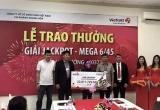 Trúng giải Jackpot 1 của Vietlott không còn lạ lẫm với người dân Đắk Lắk