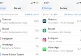 Xác định các ứng dụng 'đốt pin' iPhone của bạn như thế nào?