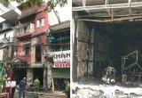Hà Nội: Hai người bị thương sau khi ngôi nhà 4 tầng bỗng dưng phát hỏa