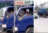Thanh Hóa: Phạt 8 triệu đồng chủ phương tiện để bé trai 10 tuổi lái xe tải trên phố