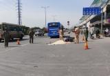 TP HCM: Xe buýt cán qua người khiến một phụ nữ tử vong tại chỗ