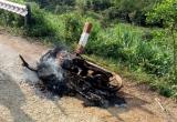 Lâm Đồng: Xác định các đối tượng trong vụ lâm tặc đốt xe phi tang khi gặp kiểm lâm