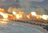 Hàn Quốc đưa 300 khẩu pháo binh tập trận sát biên giới Triều Tiên