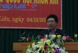 Phó Thủ tướng Chính phủ tiếp xúc cử tri tại Quảng Ninh
