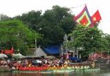 Du khách thập phương ùn ùn kéo đến tham dự lễ hội làng Thượng Cát