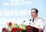 """""""Khiên thép trấn biên"""" trở thành tân Giám đốc Công an tỉnh Hà Tĩnh"""