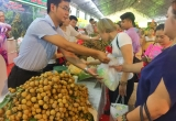 Phó Thủ tướng Vương Đình Huệ dự Hội nghị xúc tiến thương mại nhãn và nông sản Hưng Yên