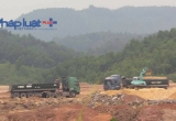 Yên Bái: Xe quá tải lộng hành gần chốt trạm Thanh tra giao thông đầu cầu Văn Phú